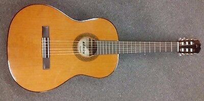 Admira Malaga Solid Top 4/4 Classical Guitar, solid top, gloss, made in Spain.