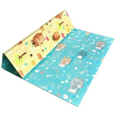 Large Waterproof Baby Play Mat Toddler Activity Proof Backing Double Sided Yoga