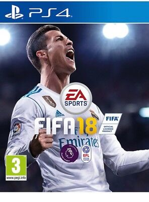 fifa 18 ps4 sealed and brand new