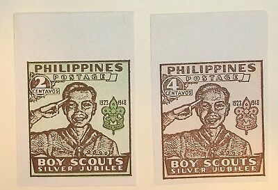 Philippines Stamp 528-9  MNH Cat $5.00 Scouting Topical