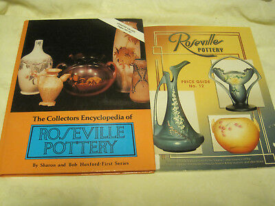 The Collectors Encyclopedia Roseville Pottery-S&Bob Huxford w/#12 PRICE GUIDE