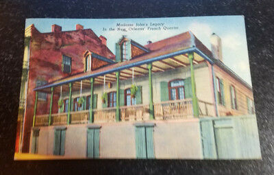 Madame John's Legacy in the New Orleans French Quarter Postcard