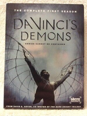 Da Vincis Demons: The Complete First Season DVD Tom Riley Laura Haddock