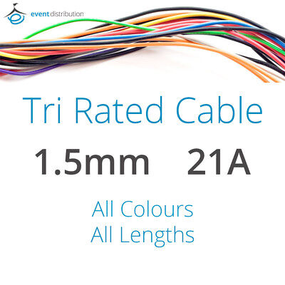 5m GREEN//YELLOW 21A 12v AUTO CABLE 21 1.5mm//sq CAR WIRING LOOM WIRE AUTOMOTIVE