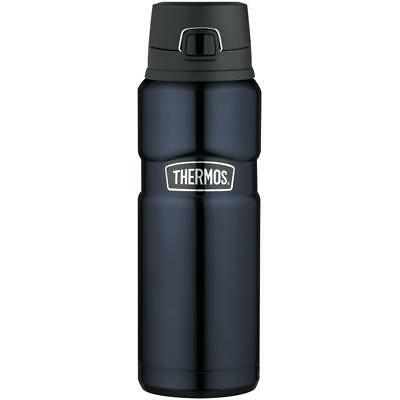 Midnight Blue King Stainless Steel, Vacuum Insulated Drink Bottle 24 Ounce