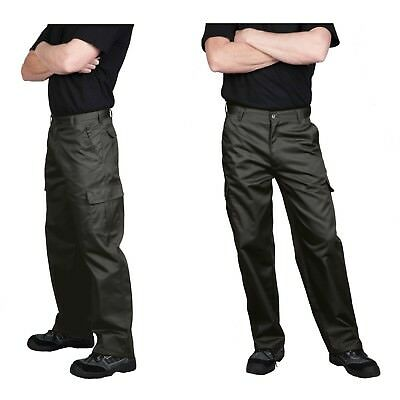 Men's Cargo Pants, Portwest C701 Navy or Black, Regular or Talls!
