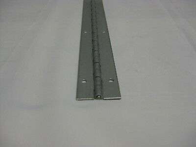 """3//4/""""x3//4/""""  Nickel Plated Piano Hinges 6/"""" to 36/"""" Starting at $4.85 Made in USA"""