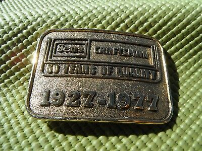 RARE Vintage Sears CRAFTSMAN BELT BUCKLE 1927-1977 50 years of quality