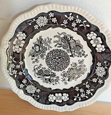 Spode Archive Collection Regency Series Large Stoneware Dinner Plate TROPHIES