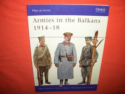Osprey Men at Arms 356, ARMIES in the BALKANS 1914-18