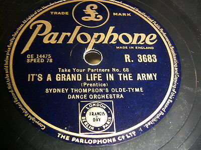 2/4 Sydney Thompson's Olde Tyme Dance Orch. - It's A Grand Life In The Army