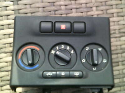 2001 Vauxhall Zafira Heater Controls Panel