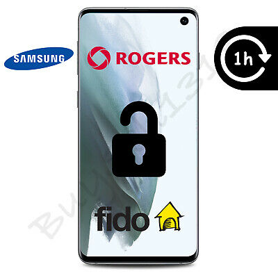 Rogers Or Fido - Samsung Galaxy Unlock Code - Any Model - 1 Hour Or Less