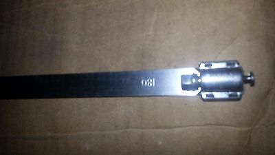 """Stainless Steel Clamp 600180H136BFLT 37 1/2"""" Qty 10 * NEW FREE SHIP *"""