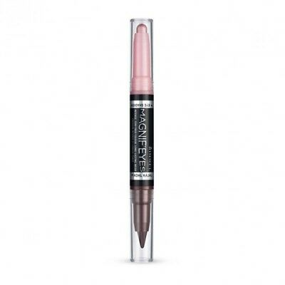 RIMMEL Magnif'Eyes Double Ended Shadow & Liner Shade Pink & Purple