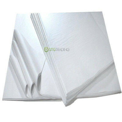 """Reams of White Tissue Paper 15 x 20"""" Packing Wrapping Soft Paper Special Price"""