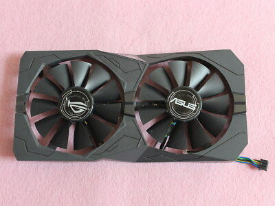 ASUS ROG STRIX Radeon RX460 Video Card Fan Replacement with Bracket 4Pin R205