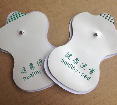 For Tens Acupuncture Digital Therapy Machine Massager White Electrode Pads