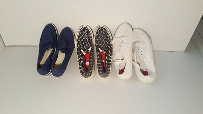 Lot of 3 Vans Skate Womens shoes display Models size 10-Free shipping