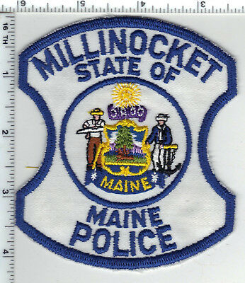 Millinocket Police (Maine) Shoulder Patch - new from the Early 1980's