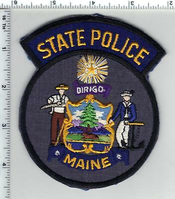 State Police (Maine) Shoulder Patch - from a wall display