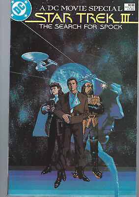 STAR TREK III The Search for Spock US - A DC Movie Special - Film Adaption 1984