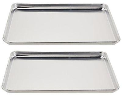 Vollrath (5303) Wear-Ever Half-Size Sheet Pans, Set Of 2 (18-Inch X 13-Inch X 1-