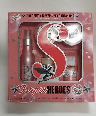 Soap and Glory Soaper Heroes 5 trusty travel sized companions 3x50 ml