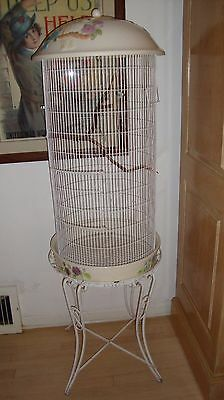 Vintage  Love Bird Cage  Large