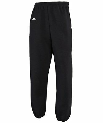 Russell Youth Dri-Power Sweatpants Pants w/Pocket BOYS BLACK LARGE SMALL Lot