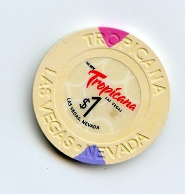 """1.00 Chip from the Tropicana Casino in Las Vegas Nevada """"The New"""""""