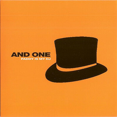 """AND ONE paddy is may dj limited edition 7"""" Vinyl orange clear NEU"""