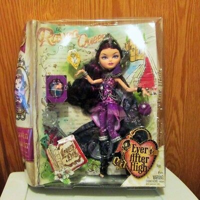 2013 Mattel Ever After High Raven Queen Legacy Day Doll NIB