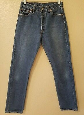 Vintage Levis 501 XX Jeans Women High Rise Mom Button Fly 30x32 - 30x31 Womens