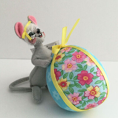 """Annalee Easter Egg Mouse 5"""" Spring Doll Egg-Stra Special 2014 NEW Holiday Decor"""