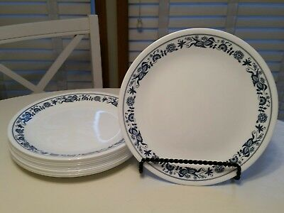 Corelle Corning Old Town Blue Onion Bread Plates  6 3/4""
