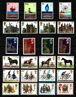 SG1050-1074 1978 COMMEMORATIVES YEAR SET ~ 6 Sets  Unmounted Mint.