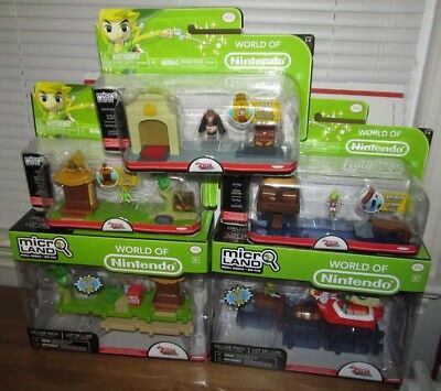 World of Nintendo Legend of Zelda Wind Waker HD Micro Land Playset Lot Jakks