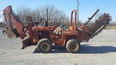 Ditch Witch 4010 Backhoe Trencher