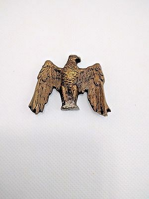 Vintage American Eagle Brass Toned Possible Boy Scouts Flag Topper
