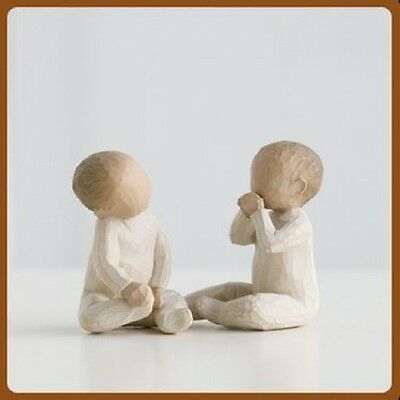 Willow Tree Figurines   TWO TOGETHER  Hand Painted Figurine