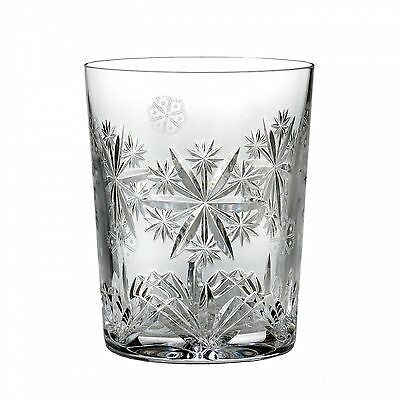 Waterford Snowflake Wishes Serenity Double Old Fashioned Glass