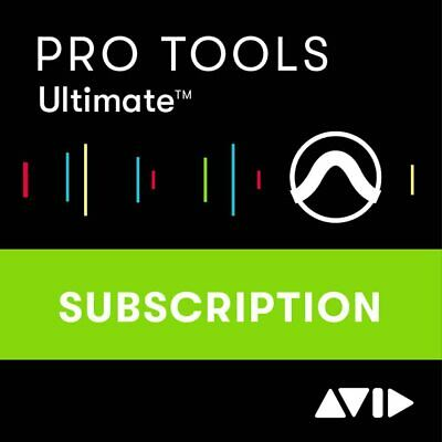 Avid Pro Tools ULTIMATE 1 YEAR Subscription Electronic Download UPC 724643119416
