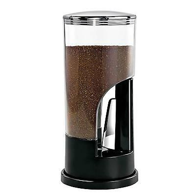Ground Coffee Dispenser and Storage Canister 8oz Capacity Preserves Freshness