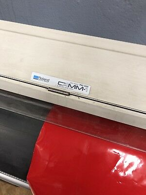 ROLAND PNC-1410 CAMM-1 PRO Parallel/Serial Sign Maker Vinyl Cutter w