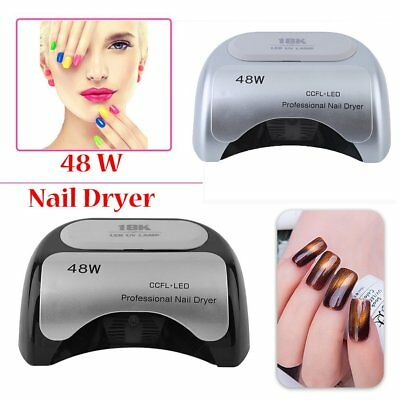 Professional 48W LED Light UV Nail Dryer Lamp Curing Gel Manicure Pedicure