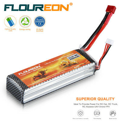 11.1V 4500mAh 3S 30C LiPo RC Battery Deans for RC Truck Helicopter Car Drone UAV