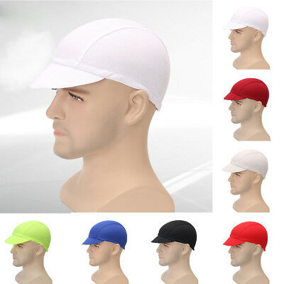 EG_ Fashion Unisex Breathable MTB Cycling Bicycle Riding Solid Color Cap Hat Gra