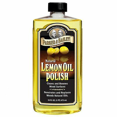 Parker & Bailey Natural Lemon Oil Furniture Guitar Fretboard Cleaner and Polish