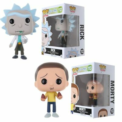 Rick and Morty Action Figure Collection Vinyl Toy W/ Box For Kids Gift